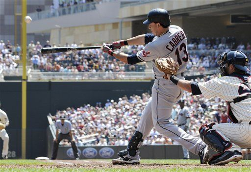 MLB: Indios 5, Mellizos 2; Cabrera pega jonrón