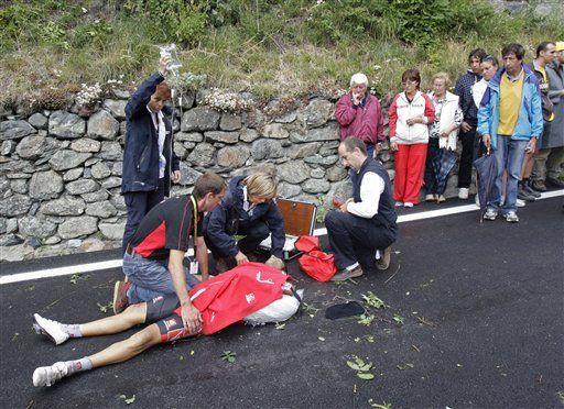 Tour: Schleck muestras sus cartas en los Alpes y lidera