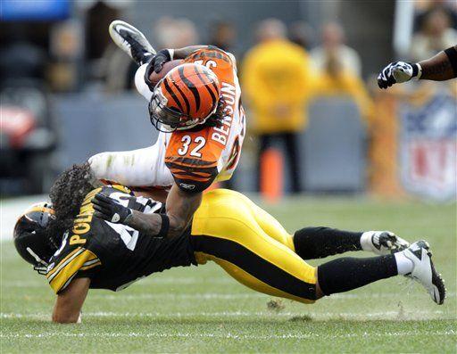 NFL: Steelers 35, Bengals 7; Roethlisberger lanza dos pases de TD