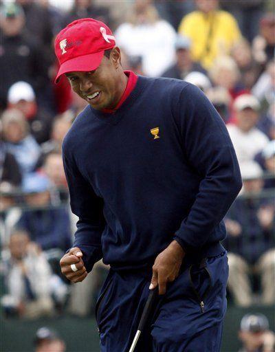 Estadounidenses ganan Copa Presidentes de golf