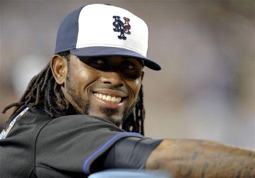Reyes se pierde 3er duelo seguido con los Mets, por tirón