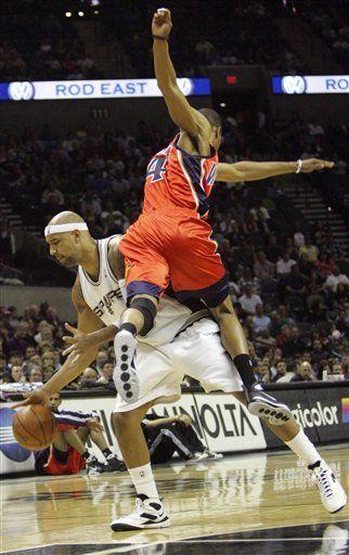 NBA: Spurs 107, Warriors 106
