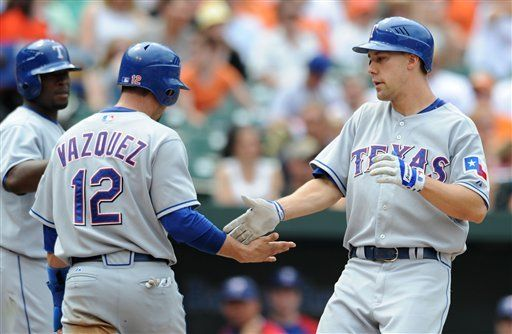MLB: Rangers 11, Orioles 10; Murphy remolca tres con jonrón