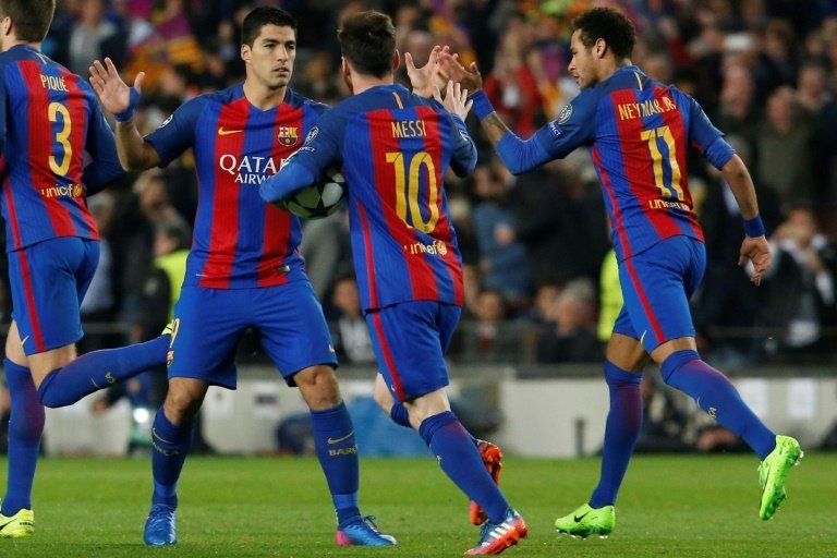 El Barcelona golea 6-1 al PSG y clasifica a cuartos de la Champions