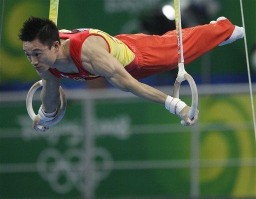 Chino Yang gana oro en gimnasia