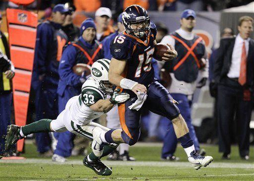NFL: Broncos 17, Jets 13; Tebow, el héroe