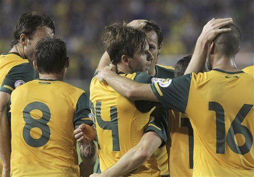 Mundial: Australia avanza a ronda final de eliminatorias