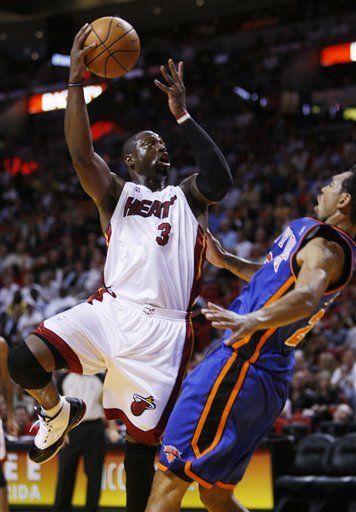 NBA: Heat 115, Knicks 93; inicia fuerte Wade