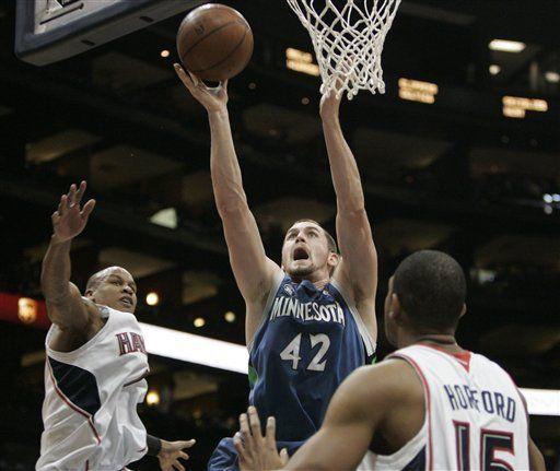 NBA: Hawks 109, Timberwolves 97