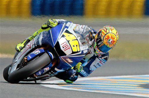 Rossi gana el GP de Francia de motociclismo