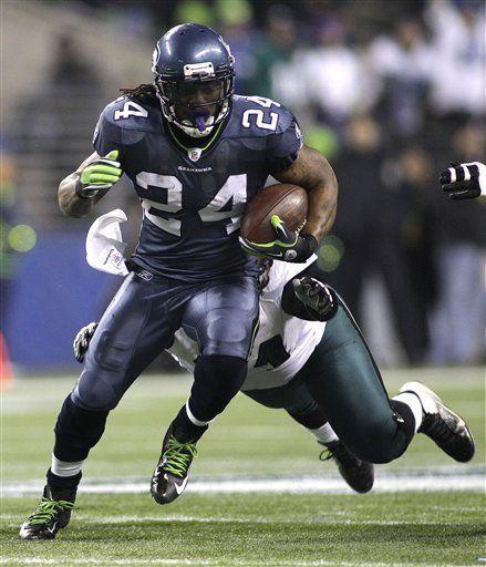 NFL: Seahawks 31, Eagles 14; Lynch anota 2 veces