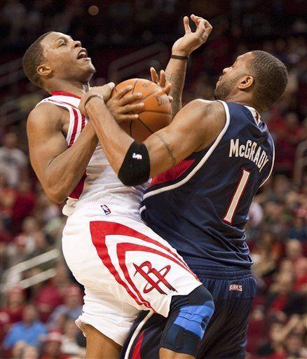 NBA: Rockets 95, Hawks 84; Martin anota 27 puntos para Houston