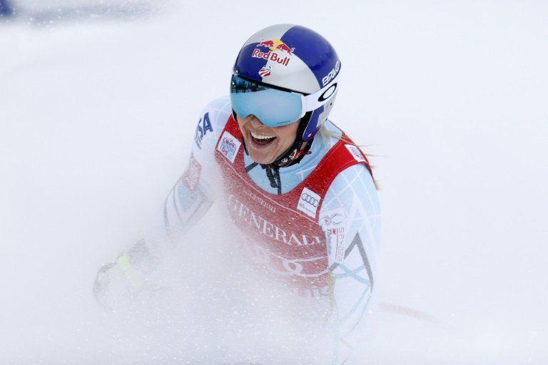 Lindsey Vonn gana el descenso de Lake Louise