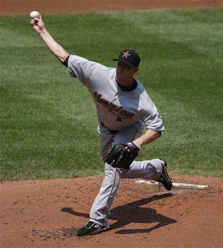 MLB: Astros 5, Nacionales 0, Backe luce en la loma y con el bate