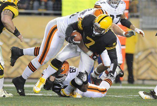 Steelers: Roethlisberger entrena pero sigue en duda