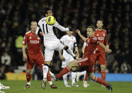 Fulham vence 1-0 a Liverpool y lo aleja del pelotón