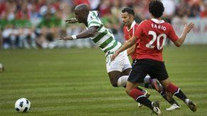 Manchester United vence 3-1 al Celtic en Canadá