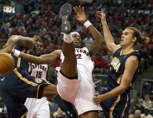 NBA: Pacers 90, Raptors 85; cae Toronto en debut como local