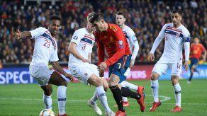 España gana con apuros a Noruega y da primer paso hacia Eurocopa-2020