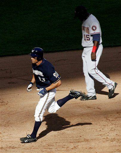 MLB: Cerveceros 5, Nacionales 4; en 13 entradas