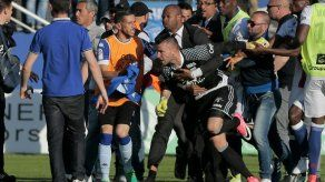 La violencia acecha al fútbol francés
