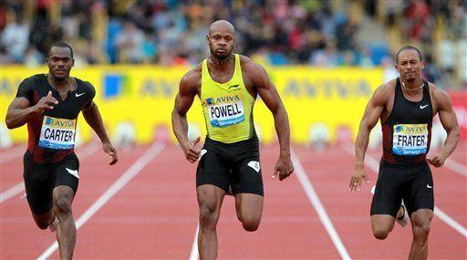 Powell gana los 100 metros con 9,91 en Birmingham