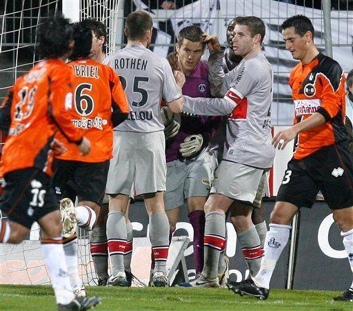 PSG vence 1-0 al Lorient