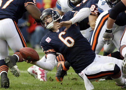 NFL: Bears 48, Lions 24; Cutler lanza 2 pases de anotación