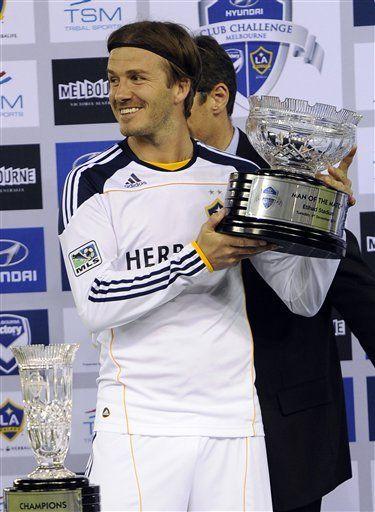 Galaxy de Los Angeles gana en posible despedida de Beckham