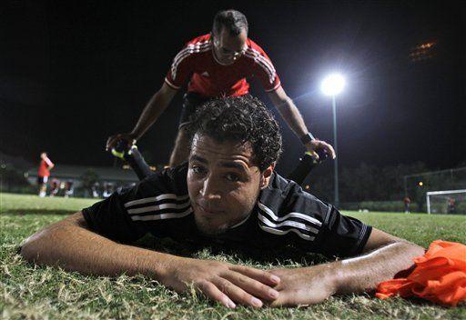 Tras muerte de Gadafi, los sueños deportivos de Libia reviven