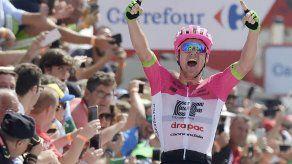 Clarke gana la quinta etapa de la Vuelta a España