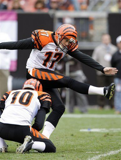 NFL: Bengals 23, Browns 20, tiempo extra