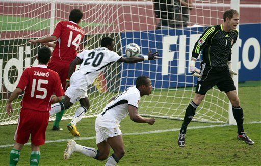 Sub20: Ghana vence 3-2 a Hungría y avanza a la final