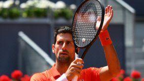 Djokovic a semifinales del torneo de Madrid por baja de Cilic