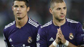 Campeones: Real Madrid gana; Milan empata