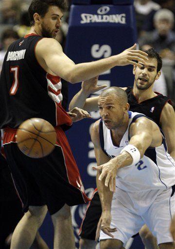 NBA: Mavericks 109, Raptors 98; Kidd supera 10.000 asistencias