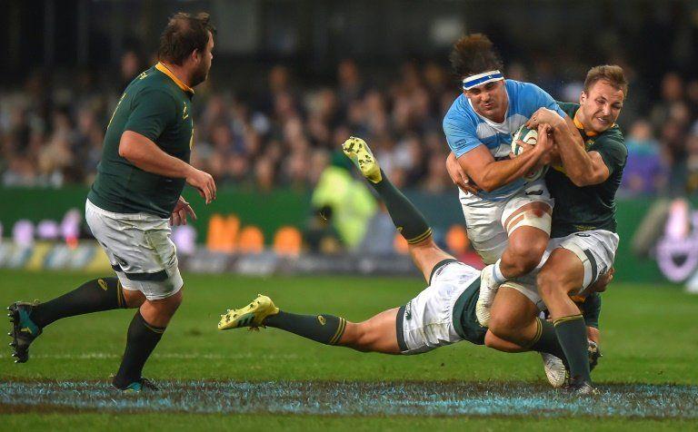 Los Pumas caen 34-21 en Sudáfrica en su inicio del Rugby Championship