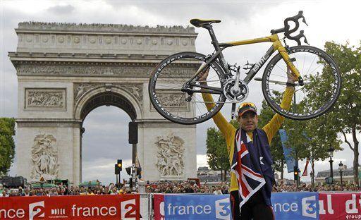 Australia festeja victoria de Evans en el Tour de Francia