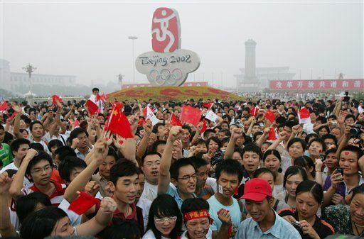 Beijing en calma antes de la ceremonia inaugural