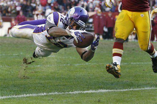 NFL: Vikings 33, Redskins 26; Peterson y Ponder se lesionan