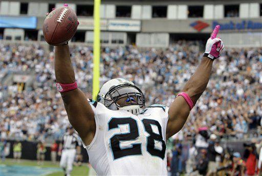 NFL: Panthers 20, Redskins 17; Stewart anota para victoria