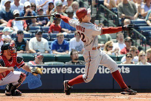 MLB: Diamondbacks 9, Bravos 3; Byrnes pega grand slam