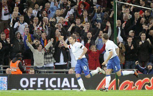 Inglaterra vence 1-0 a España en amistoso