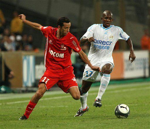 Mónaco vence al Marsella por 2-1 en liga francesa