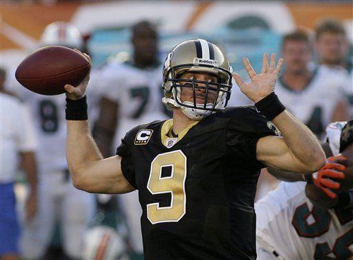 NFL: Saints 46, Dolphins 34; Nueva Orleáns se mantiene invicto