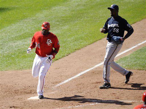 MLB: Nacionales 7, Cerveceros 6; wild pitch fatal de Mota