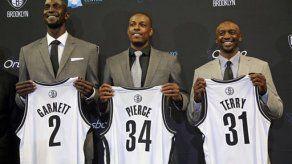 NBA: Pierce y Garnett buscan dejar huella en Nets