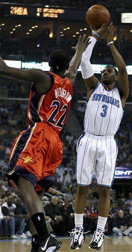 NBA: Hornets 99, Warriors 89; Paul anota 23 puntos