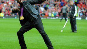 Usain Bolt jugará un partido benéfico en Old Trafford