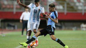 Uruguay gana 2-0 a Honduras y ya mira a los octavos del Mundial Sub-20